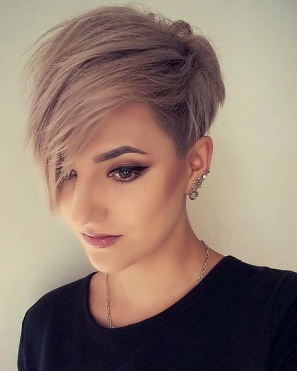 Short-Hair-Style-2019 New Best Short Haircuts 2019