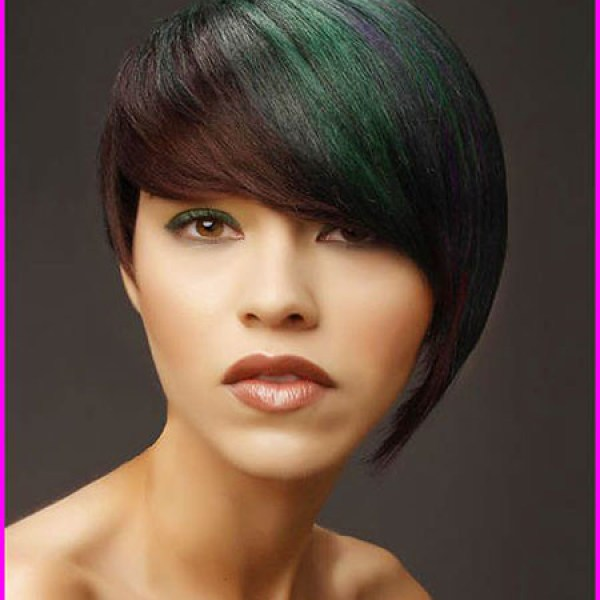 Short-Haircut-for-Round-Faces Latest Trendy Short Haircuts 2019