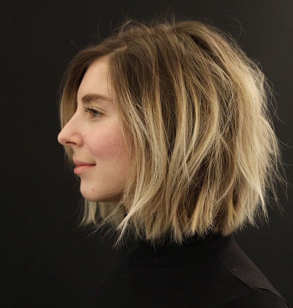 Textured-Bob-Hair Best Bob Haircut Pictures in 2019