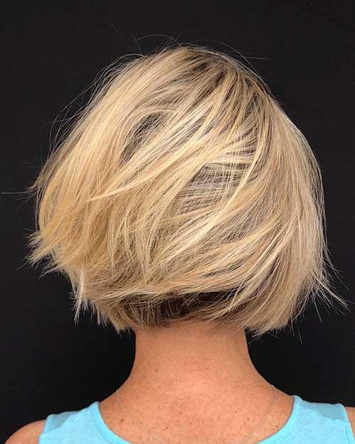 Layered-Bob-Hair Popular Short Layered Hair