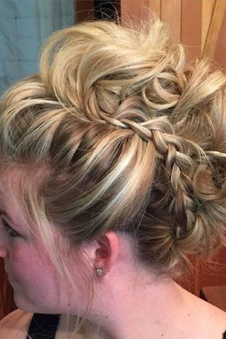 Messy-Braid Ideas to Style Wedding Hairstyles for Fall