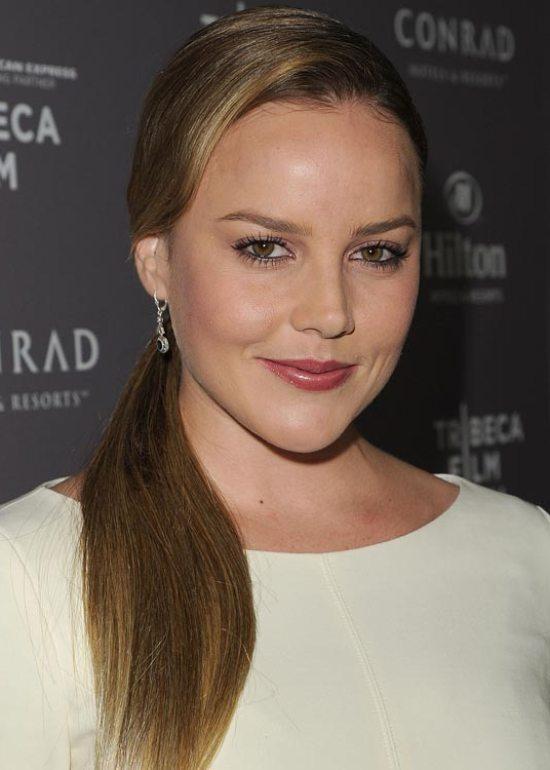 Sleek-Ponytail Victoria Beckham Hairstyles