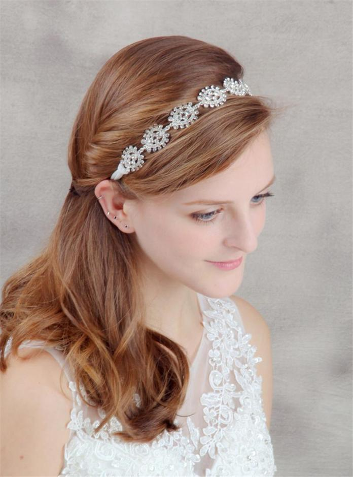 Hairband-Tiara Hairstyles with Tiara for Glam and Fab Look