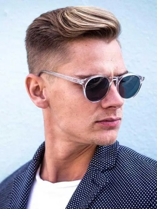Classic Cut, hairstyle for big forehead male
