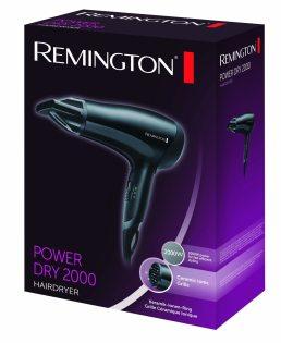 Remington D3010 2000W Power Dry Hair Dryer in box