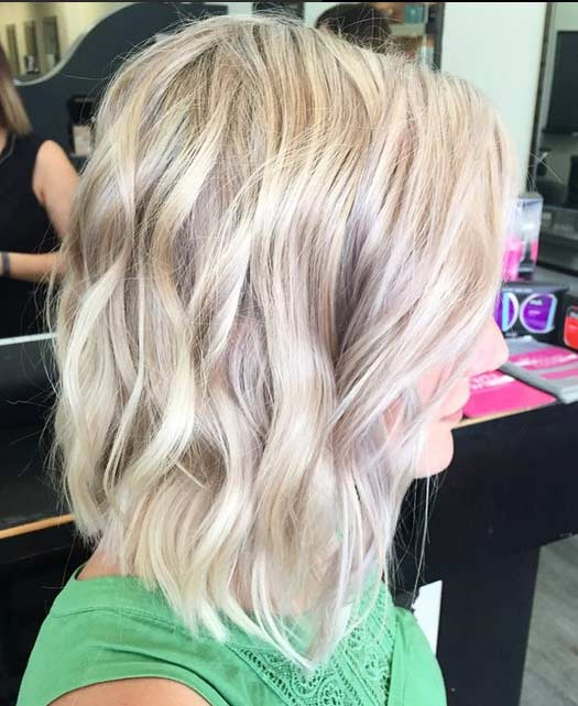Ash Blonde Bob Hairstyles Hair Colar And Cut Style