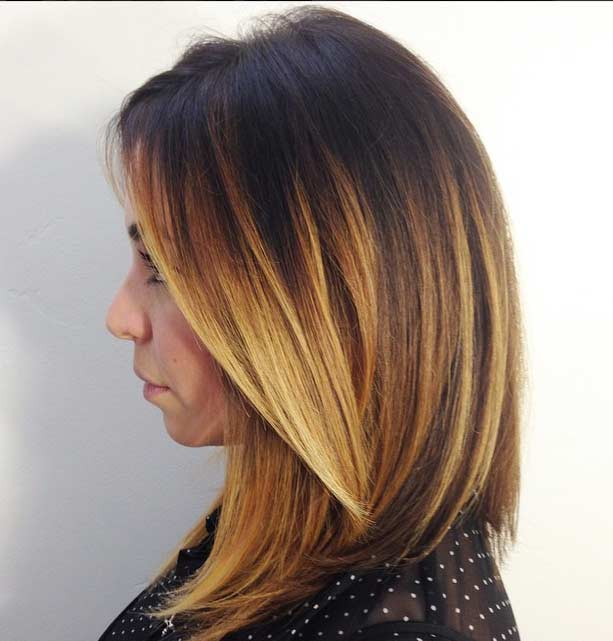 Ash Blonde Ombre Hair Hair Colar And Cut Style