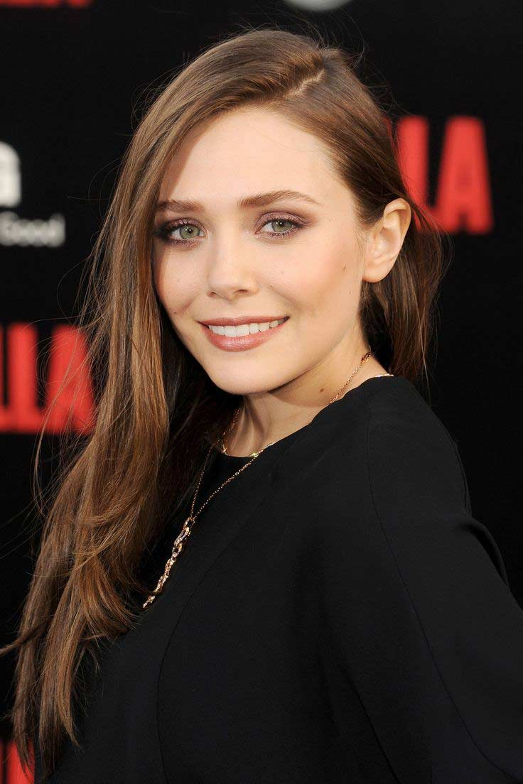 Elizabeth Olsen Hair Hair Colar And Cut Style