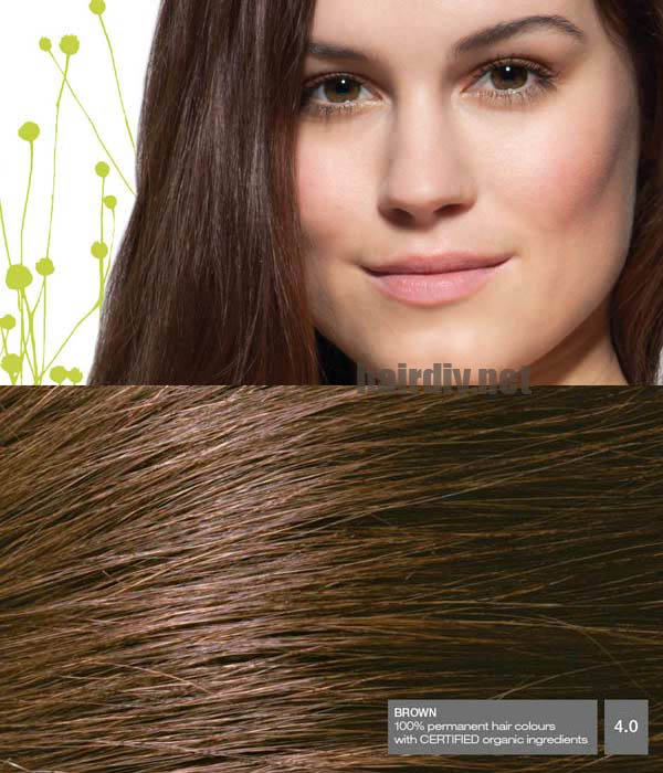 Natural Dark Brown Hair Light Brown