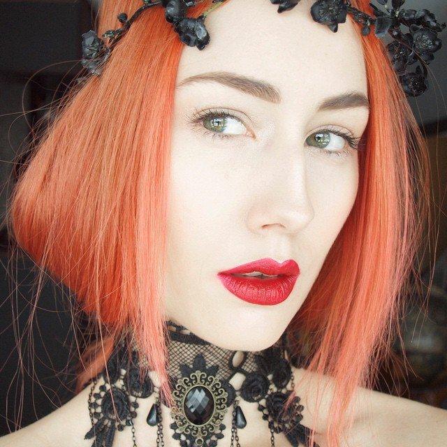 2015 Peach Hair Color Hair Colar And Cut Style