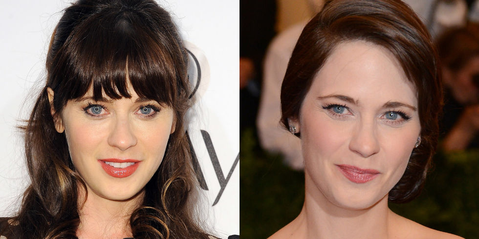 Celebrity Hairstyles To Decide On Bangs And NO Bangs