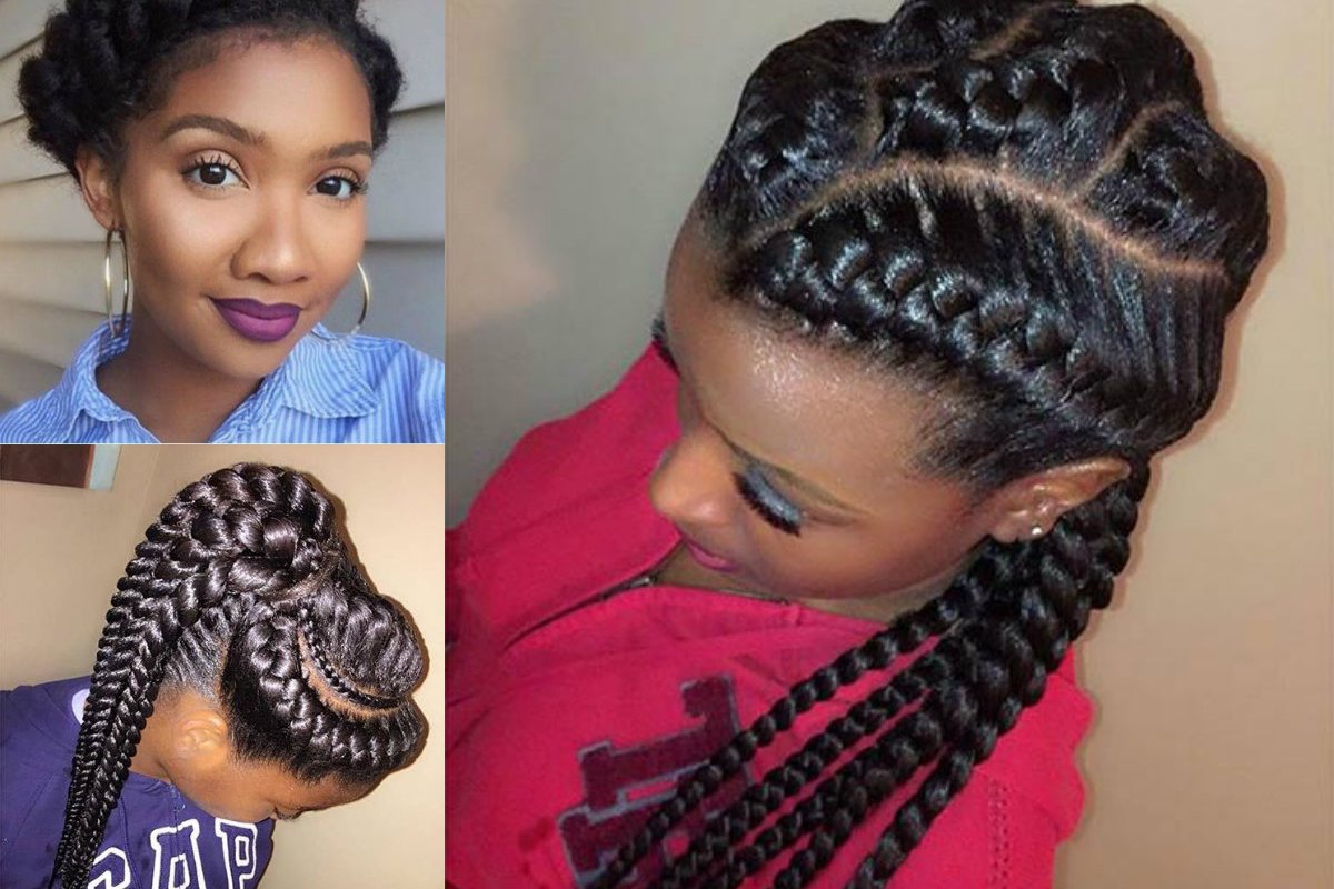 Hair Styles Two Braids: Amazing African Goddess Braids Hairstyles You Will Adore