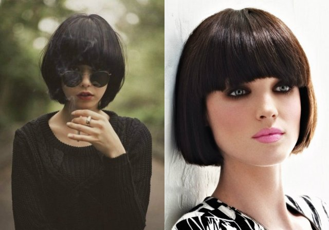 best classy bob haircuts with bangs | hairdrome