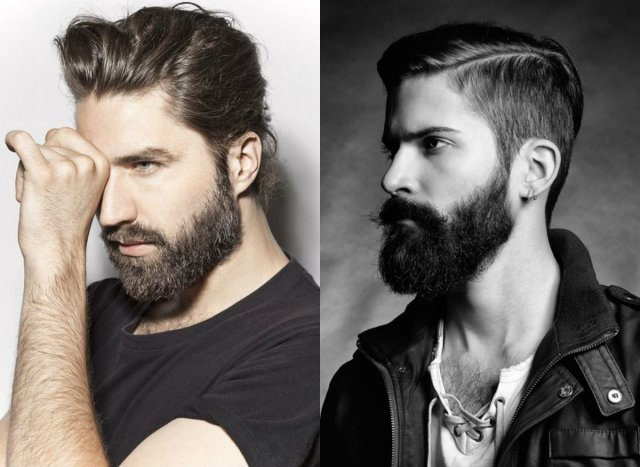 men's hairstyles & beards trends 2017 | hairstyles, haircuts