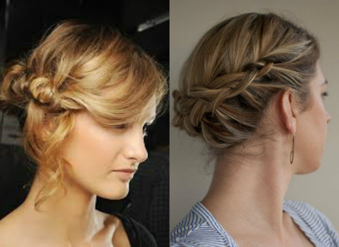 Image Result For Quick And Simple Updo Hairstyles For Medium Hair