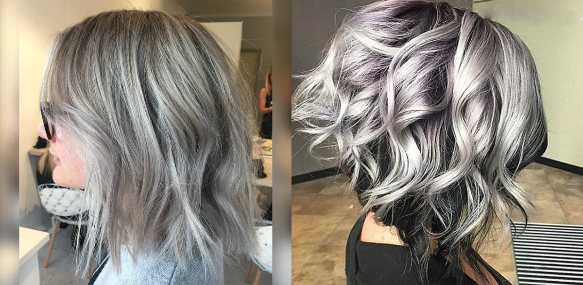 Dare Try Ice Cold Silver Bob Hairstyles