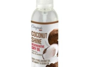 Africa's Best Coconut Shine Regenerative Dry Oil 6 Oz