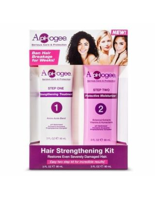Aphogee Serious Care And Protection Step One And Two Hair Strengthening Kit 6oz