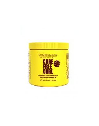 Care Free Curl Cold Wave Chemical Rearranger Maximum 16oz