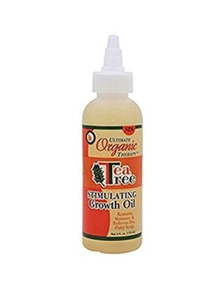 Ultimate Organic Therapy Tea Tree Stimulating Growth Oil - 4 Oz