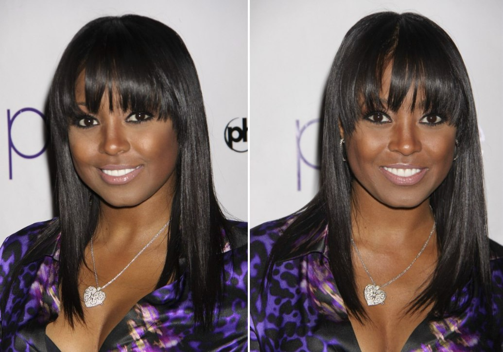 Mario Lopez's Hairstyle With Gel And Keshia Knight Pulliam