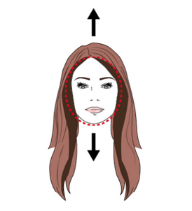best-hair-contouring-for-round-or-square-shaped-faces
