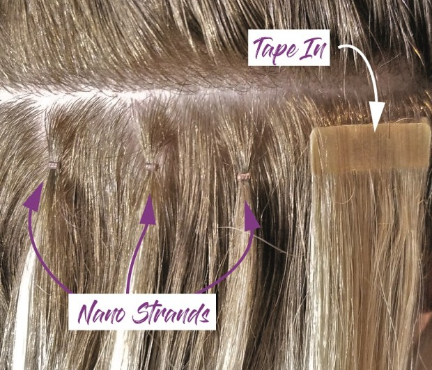 compariosn-nano-link-vs-tape-in-hair-extensions