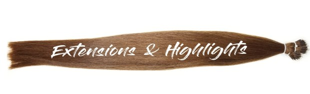 Highlighting -hair-with-extensions
