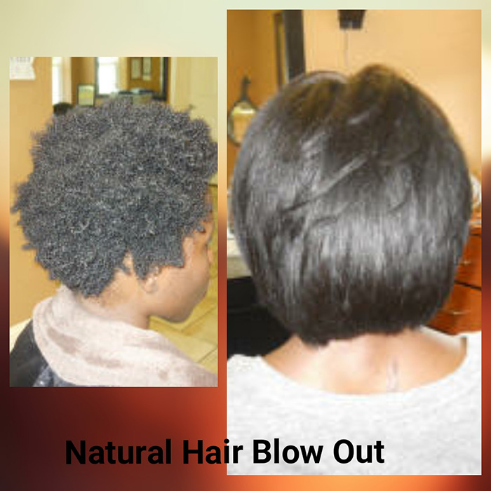 Natural Hair Blowouts, natural hair blowout styles