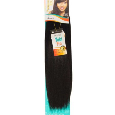 Premium Too Human Hair Blend Yaki Pro Weave