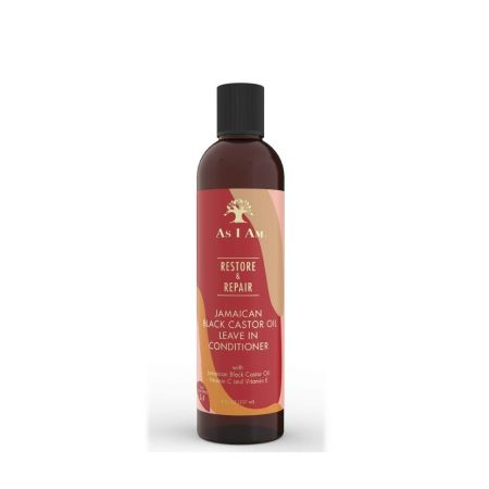 AS I Am Jamaican Black Castor Oil Leave In Conditioner 8oz