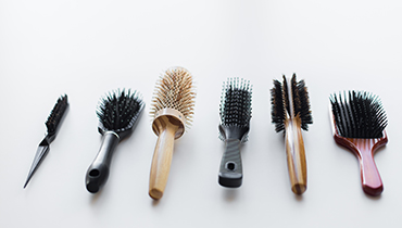 different-hair-brushes-or-combs-P4L2YZ8