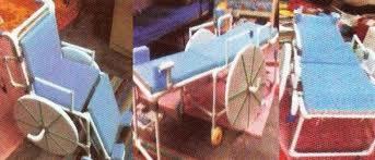 Adjustable Wheel Chair-pic