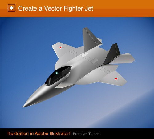 Tutorial how to Create a Vector Fighter Jet