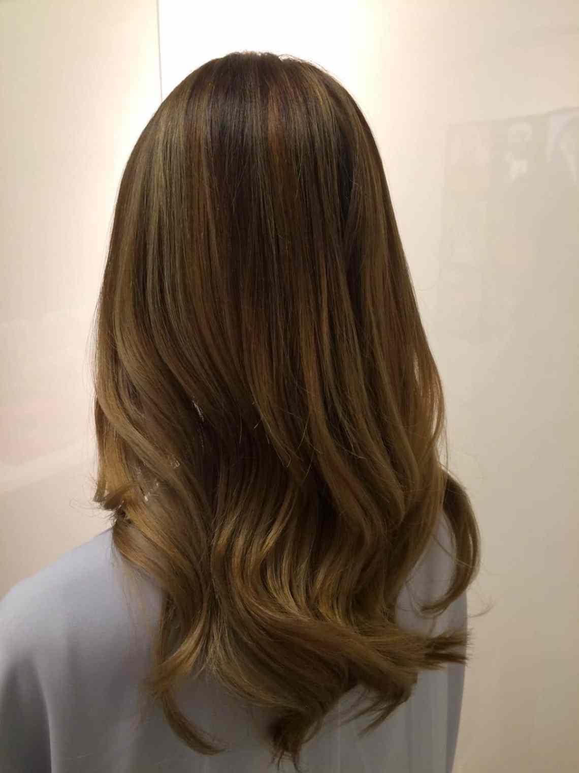 brown balayage hairloom salon