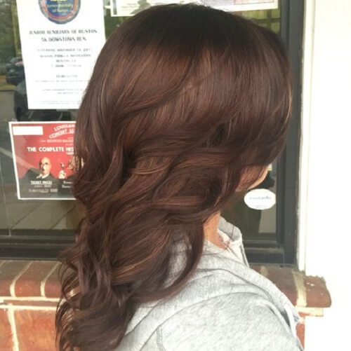 50 Intense Chestnut Hair Color Shade Tones That Youll