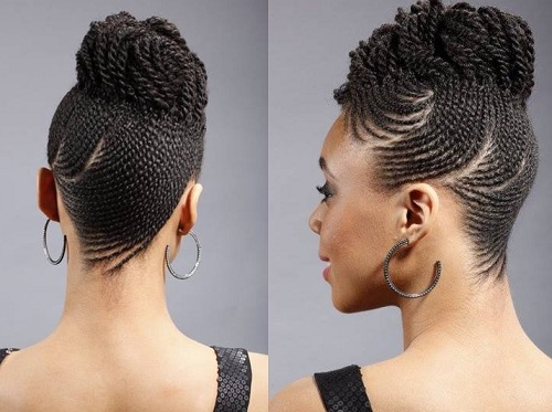How to braid hair scalp with weave how to flat twist braid weave 45 catchy and pratical flat twist hairstyles hair motive ccuart Image collections