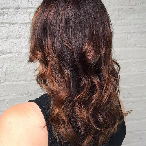 Chocolate brown hair color caramel highlights the best hair posts chocolate brown hair color caramel highlights pmusecretfo Images