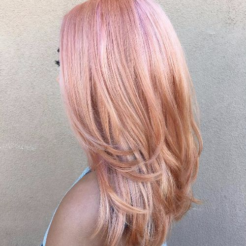Pastel pink highlights blonde hair the best blonde hair 2017 10 pretty pastel hair color ideas with blonde silver purple and blonde lob with pastel pink highlights pmusecretfo Choice Image
