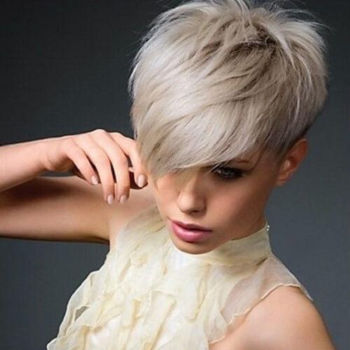 Image Result For Long Bangs Short Back Haircut