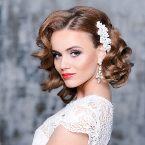 Image Result For Wedding Hairstyles Shoulder Length Hair