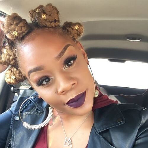 50 Beautiful Bantu Knots Ideas For Inspiration Hair