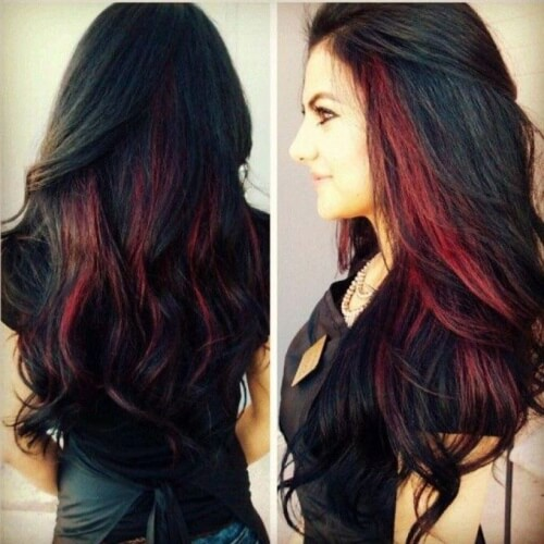 50 Peekaboo Highlights Ideas Hair Motive Hair Motive