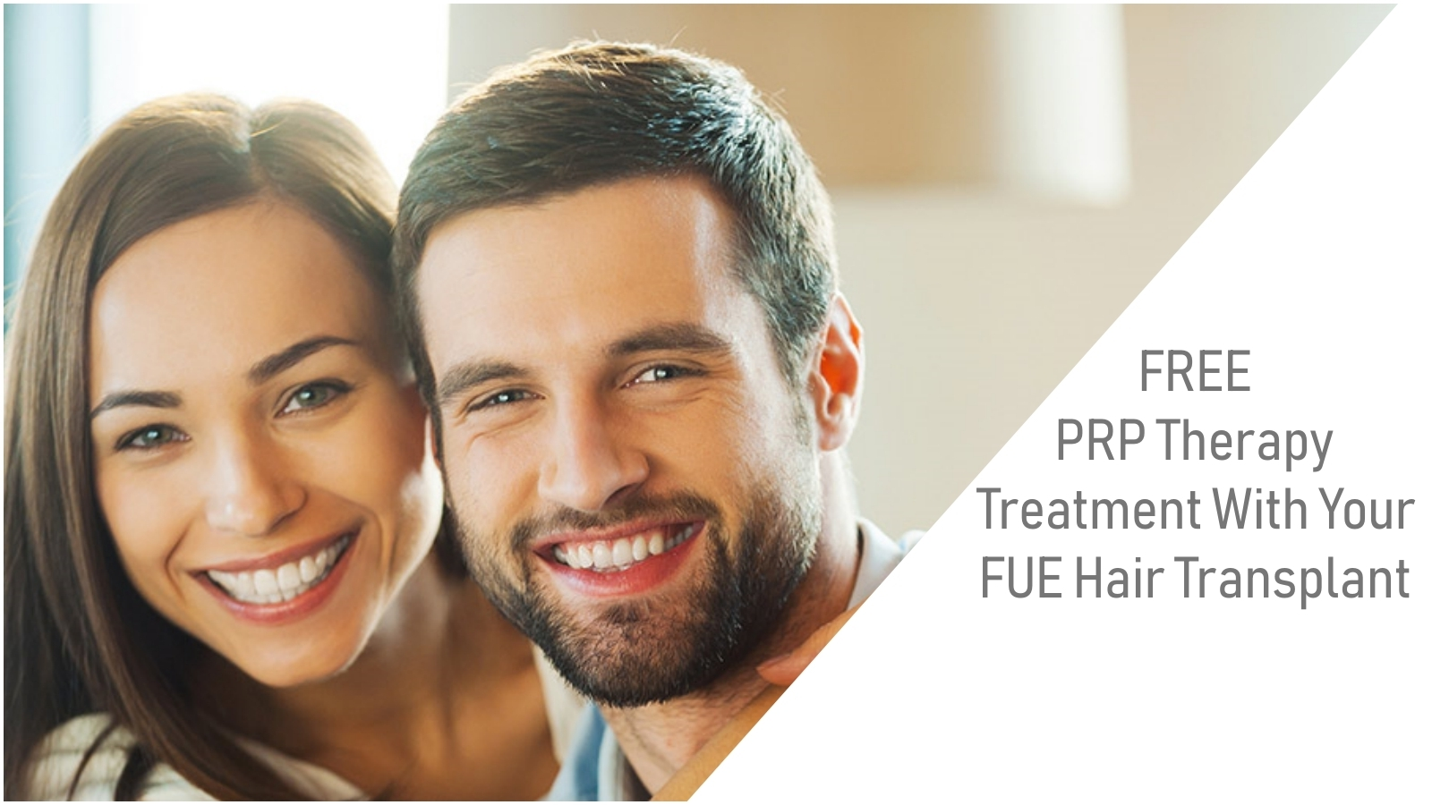 FREE-PRP Therapy with a Hair Transplant
