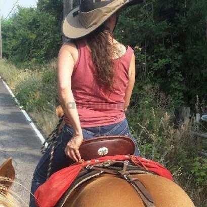 Sue's hair while riding (2)