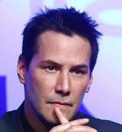 KEANU REEVES TEXTURED HAIRCUT