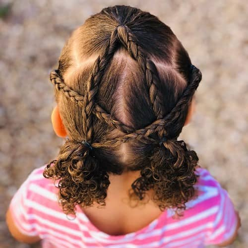 FIVE JOINTED BRAID