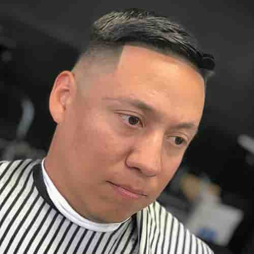 HIGH AND TIGHT HAIRCUT FOR MEN WITH CURLY HAIR