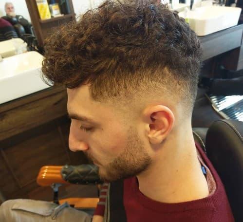 Mid Taper Haircut Curly Hair 73