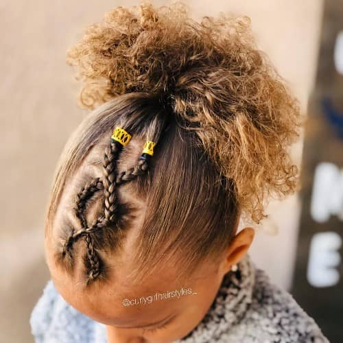 MIDDLE CHAIN HAIRSTYLE